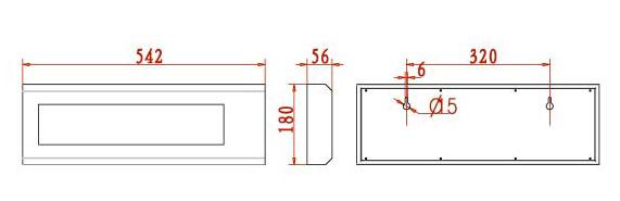 YHL3 3寸称重仪表外接大屏幕规格