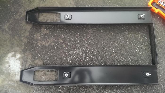 电子叉车秤承重条形盖板