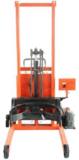 350公斤全电动倒桶秤,高效率油桶搬运秤,专利产品电动升高倾倒油桶秤